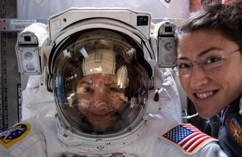 Meir e Koch, as protagonistas do primeiro passeio espacial de duas mulheres