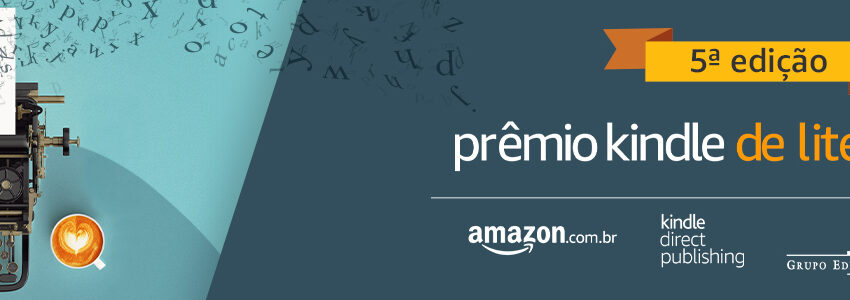 Prêmio Kindle de Literatura premiará autor com R$ 40 mil